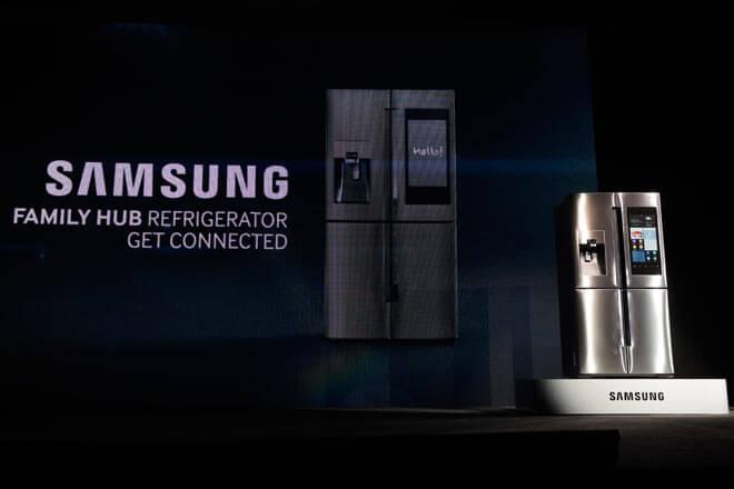 #CES2016: Samsung presenta el frigorífico más inteligente del mundo