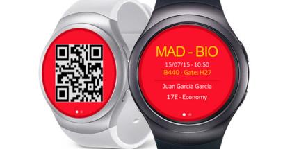 Llevar la tarjeta de embarque de Iberia en el Samsung Gear S2 ya es posible
