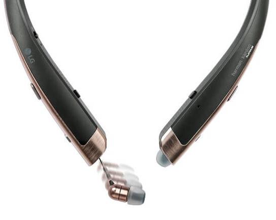 Los auriculares bluetooth LG Tone Platinum llegan al MWC
