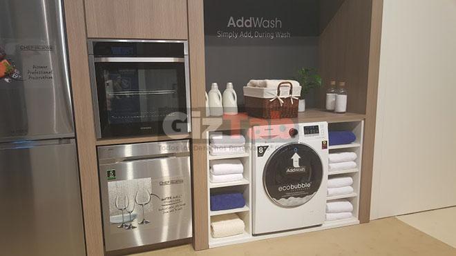 La lavadora inteligente AddWash llega a España después de su presentación en el Samsung Forum 2016