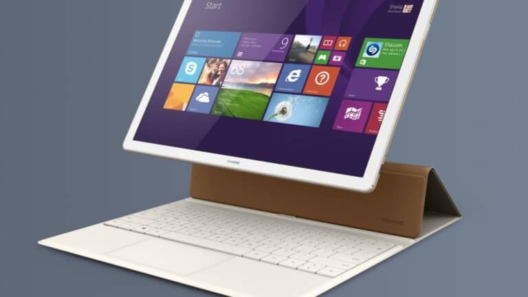 Huawei MateBook viene con teclado tipo funda
