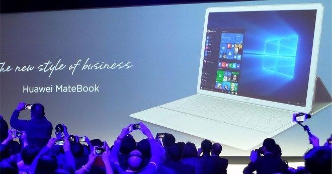 Huawei Matebook: la competencia de Surface llega desde China