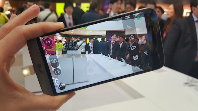LG G5 Camara