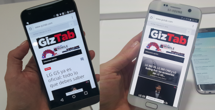 LG G5 Vs Samsung Galaxy S7 comparativa