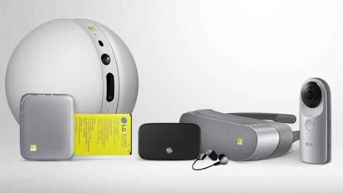 LG 360 VR, LG 360 CAM y LG Rolling Bot: los accesorios del LG G5