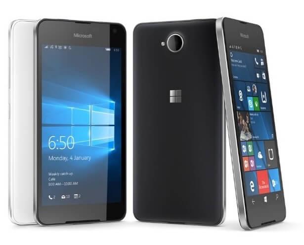 El Lumia 650 tiene sistema operativo Windows 10