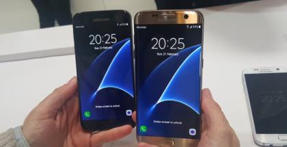 Samsung Galaxy S7 vs Samsung Galaxy S7 Edge