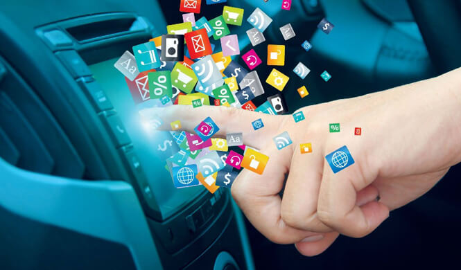 Los coches saldrán de fábrica conectados a la red en 2020