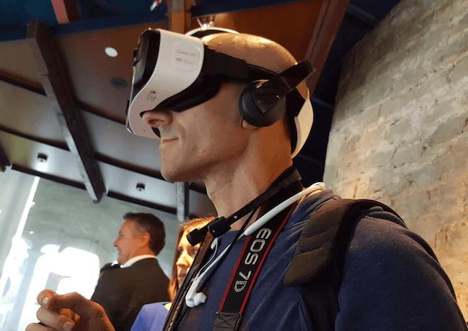gafas de realidad virtual Samsung Gear VR