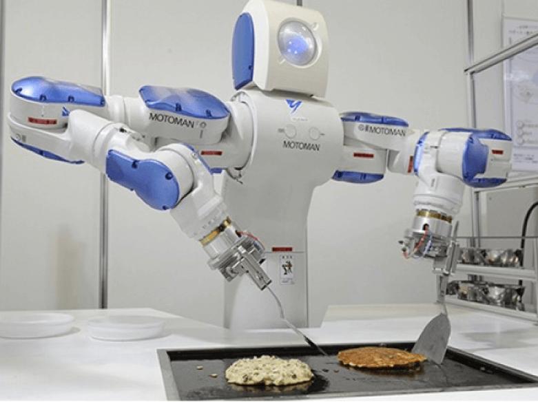 robots que cocinan