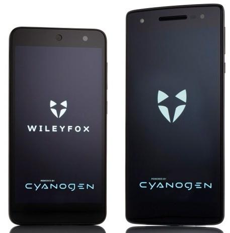 Los móviles Cyanogen Storm y Swift de Wileyfox