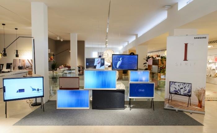 Samsung Serif TV, la nueva gama de teles diseñadas por el estudio Bouroullec