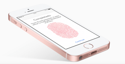 el iphone SE tiene lector de huellas dactilares o digitales y será compatible con Apple Pay