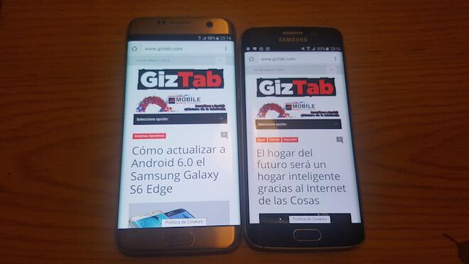 Samsung Galaxy S6 Edge Vs Galaxy S7 Edge: evolución hacia el móvil perfecto