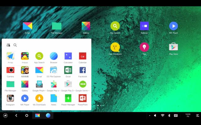 Remix OS basado en Android