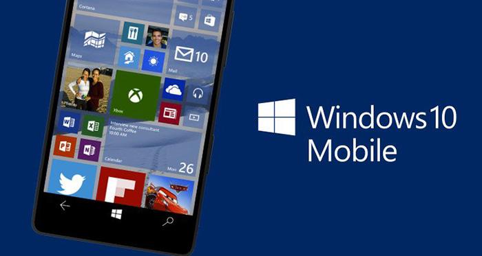 actualización de Windows 10 Mobile