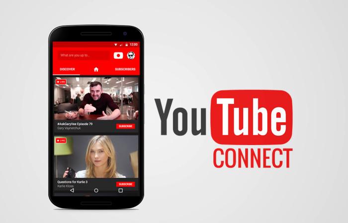 YouTube Connect, así funciona la alternativa a Periscope