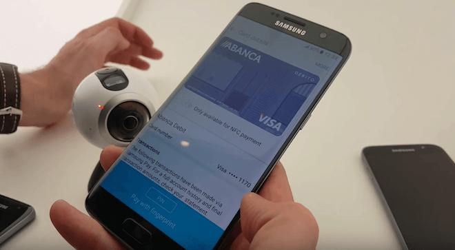 como donde pagar con Samsung Pay