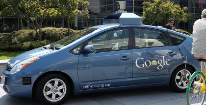 Coche autónomo de Google tiene accidente