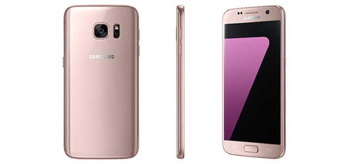 Samsung Galaxy S7 Rosa: Oro rosa, el nuevo color para el Galaxy S7