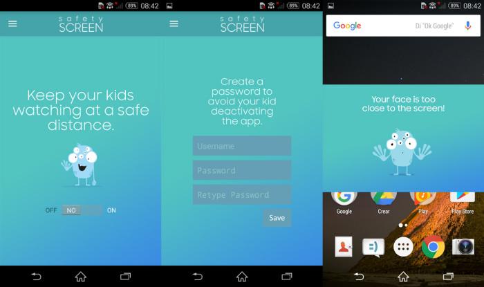 Samsung Safety Screen, la app que protege la vista de los niños