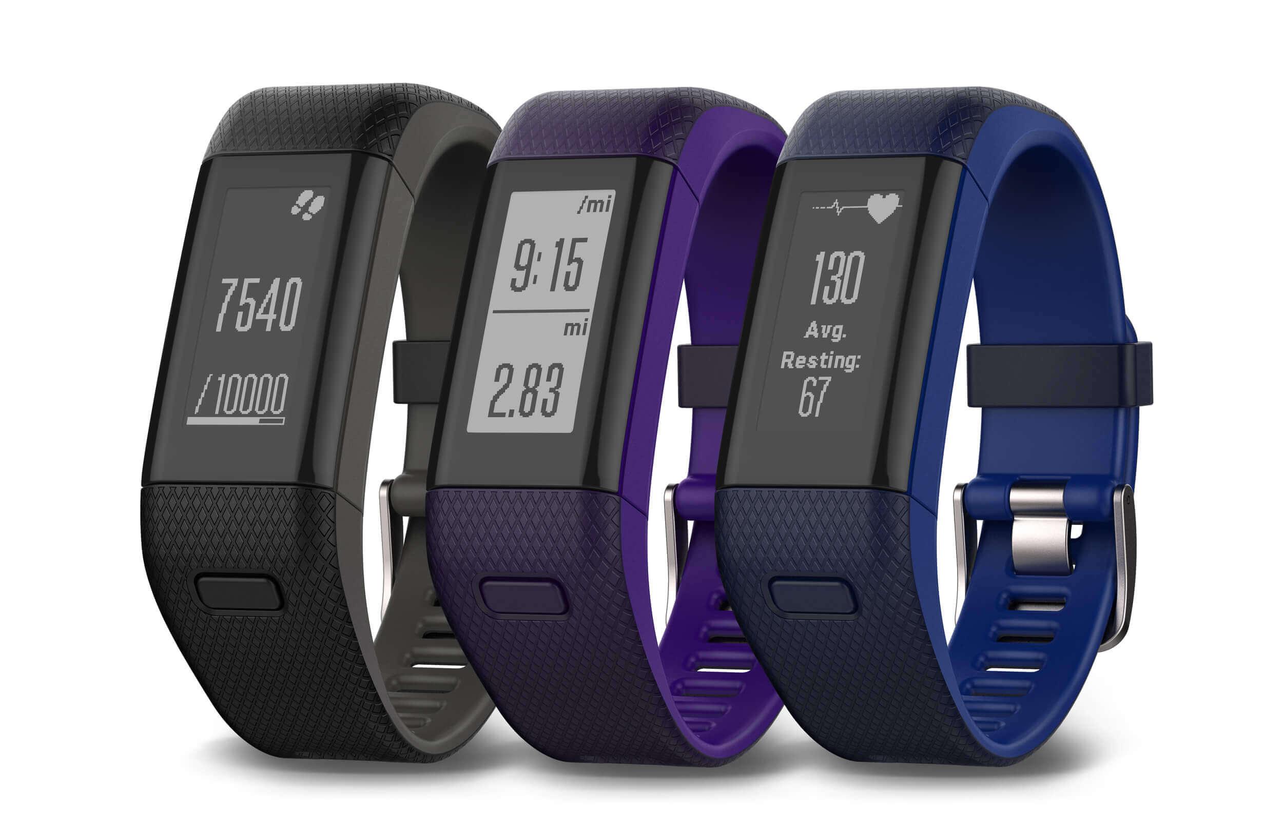 La pulsera inteligente Garmin vívosmart HR +