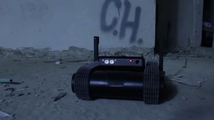Dogo, el robot con visión nocturna 360 que te podría matar a tiros
