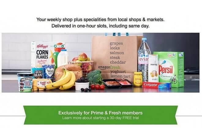 ¡Alerta supermercados! Amazon Fresh llega al Reino Unido