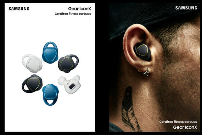 Gear IconX de Samsung, los auriculares inalámbricos que te darán la libertad que buscas