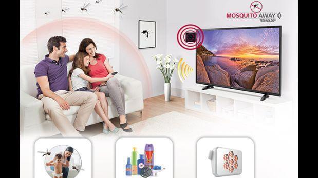 televisor LG para repeler mosquitos