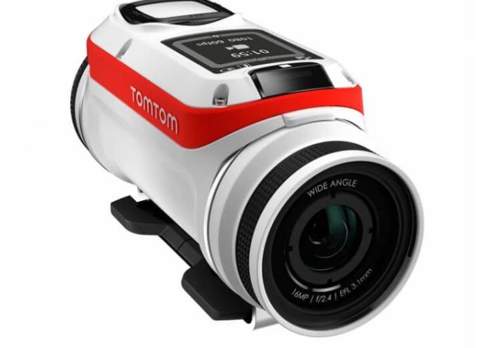 Mejores tomas submarinas con actualización de las cámaras TomTom Bandit