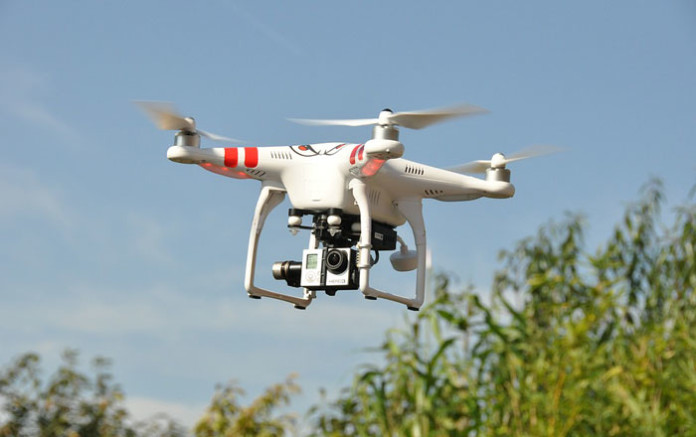 Carrera de drones