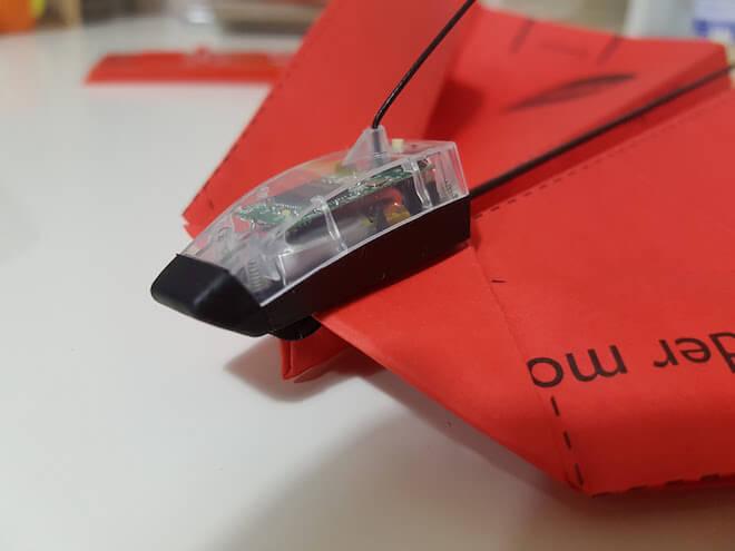 power up avion móvil
