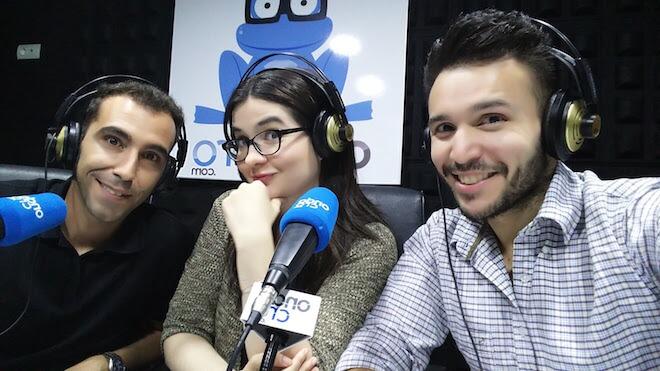 """Esperanza Hernández, César Salza y Juanda Cañadas, el equipo de """"TechDencias con GizTab"""""""