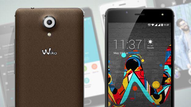 Wiko Ufeel, el móvil barato con lector de huellas y pantalla de 5 pulgadas