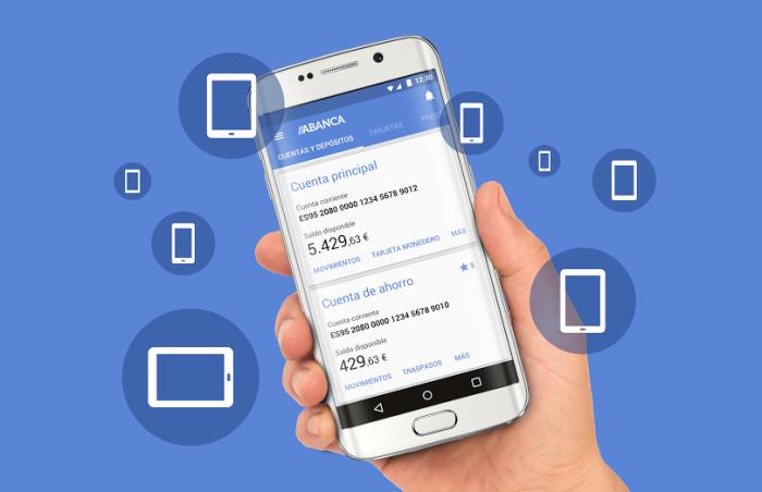 Acceso con huella dactilar, lo nuevo de la banca móvil de ABANCA