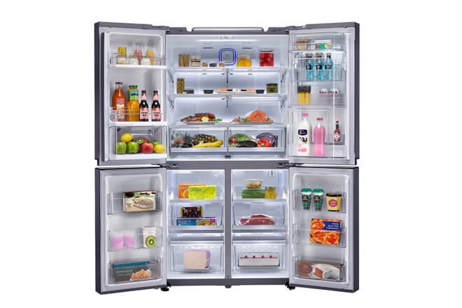 Lg american combi la nueva gama de frigor ficos de gran capacidad de lg giztab - Frigorificos de diseno ...