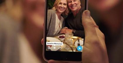 Función Recuerdos de Snapchat