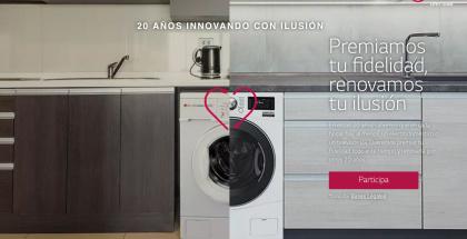 Concurso de LG premiará a la tele, lavadora y frigorífico más viejo de España