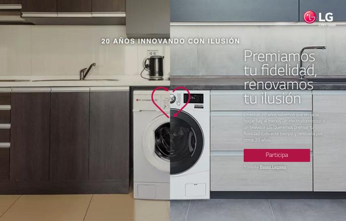 LG premiará a la tele, lavadora y frigorífico más viejo de España