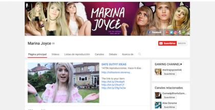 ¿Quién es Marina Joyce y por qué es TT?