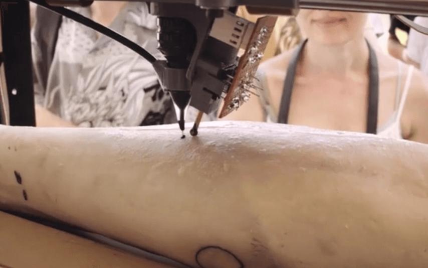 Robot para tatuar