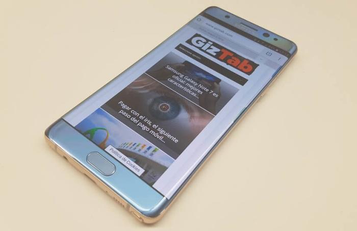 Lo mejor del Samsung Galaxy Note 7 de un vistazo (infografía)