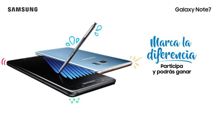 Gana un Samsung Galaxy Note 7 con este concurso de diseño