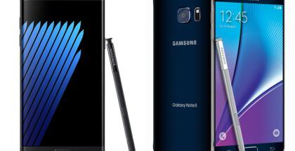 Galaxy Note 7 Vs. Note 5