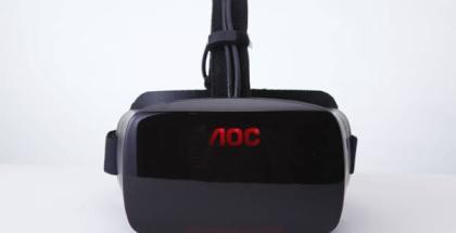 Casco de realidad virtual de AOC