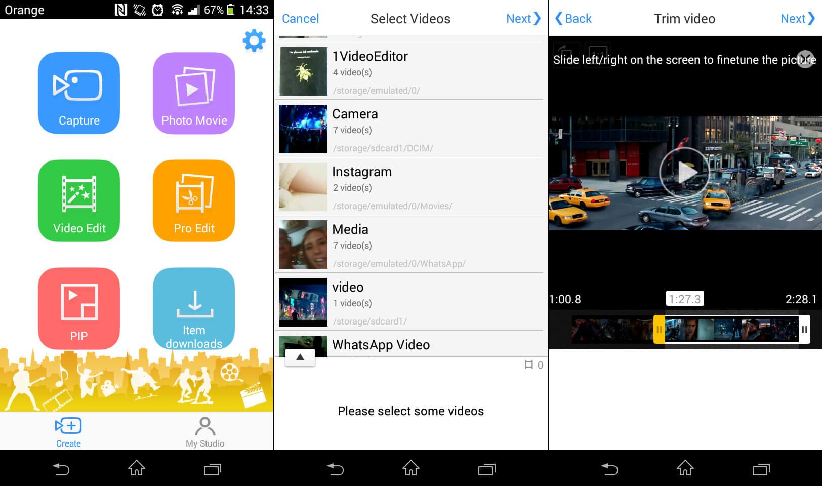Mejores aplicaciones para editar videos en android giztab for Aplicaciones para disenar
