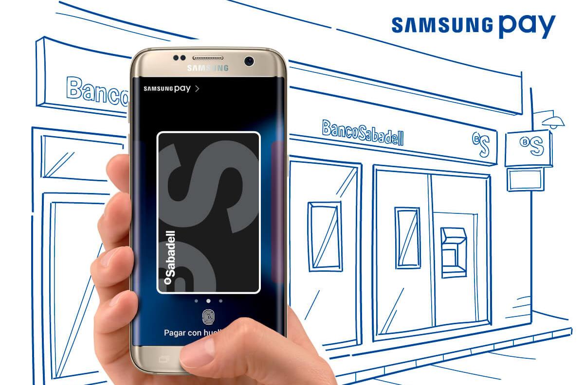 Tarjetas Sabadell en Samsung Pay
