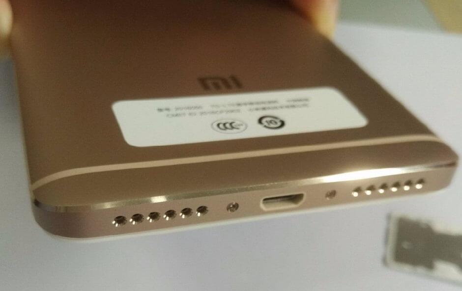 Diseño del Xiaomi Redmi Note 4