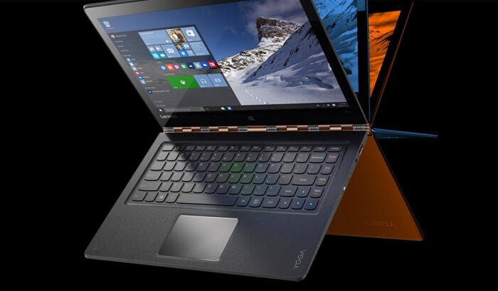 Lenovo Yoga 910, características del nuevo portátil convertible de Lenovo